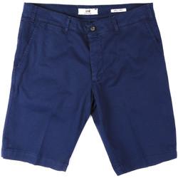 textil Herr Shorts / Bermudas Sei3sei PZV132 8136 Blå
