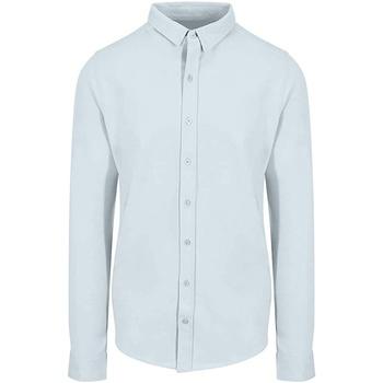 textil Herr Långärmade skjortor Awdis SD042 Blå