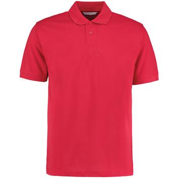 textil Herr Kortärmade pikétröjor Kustom Kit KK422 Röd
