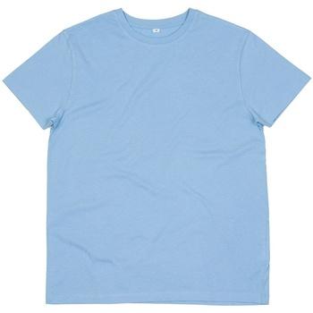 textil Herr T-shirts Mantis M01 Himmelblått
