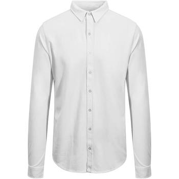 textil Herr Långärmade skjortor Awdis SD042 Vit