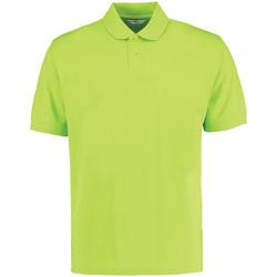 textil Herr Kortärmade pikétröjor Kustom Kit KK422 Lime Green