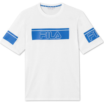 textil Herr T-shirts Fila 683085 Vit