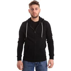 textil Herr Sweatshirts Key Up 2F01I 0001 Svart