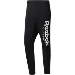 textil Herr Joggingbyxor Reebok Sport DH2089 Svart