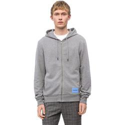 textil Herr Sweatshirts Calvin Klein Jeans K10K102711 Grå
