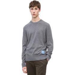 textil Herr Tröjor Calvin Klein Jeans K10K102739 Grå