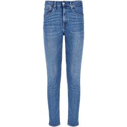 textil Herr Stuprörsjeans Calvin Klein Jeans J30J308032 Blå