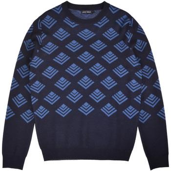 textil Herr Tröjor Antony Morato MMSW00859 YA400006 Blå