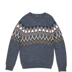 textil Herr Tröjor Antony Morato MMSW00885 YA400006 Grå