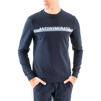textil Herr Sweatshirts Antony Morato MMFL00454 FA150048 Blå