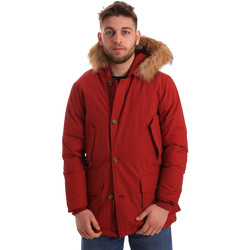 textil Herr Parkas Gaudi 821FU35017 Röd