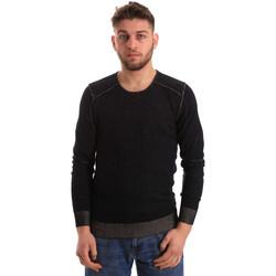 textil Herr Tröjor Gaudi 821FU53008 Svart
