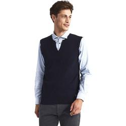 textil Herr Koftor / Cardigans / Västar Gaudi 821FU53025 Blå