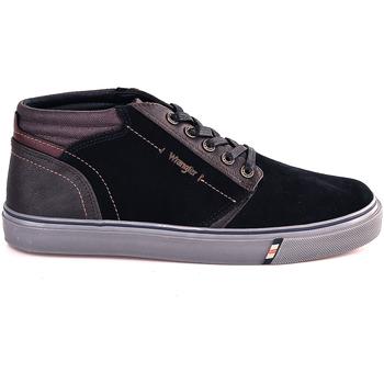 Skor Herr Höga sneakers Wrangler WM182131 Blå
