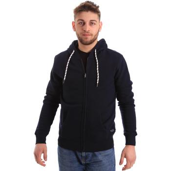 textil Herr Sweatshirts Key Up 2F01I 0001 Blå