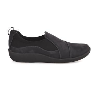 Skor Herr Slip-on-skor Clarks 122187 Blå