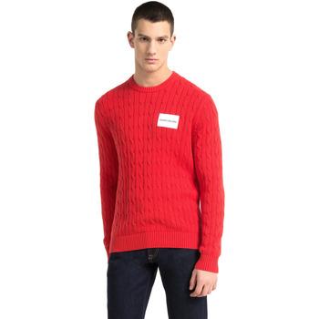 textil Herr Tröjor Calvin Klein Jeans J30J307800 Röd
