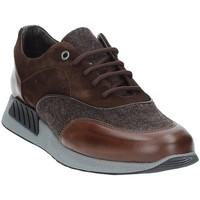 Skor Herr Sneakers Exton 161 Brun