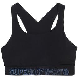 textil Dam Sport-BH Superdry GS3009AR Svart