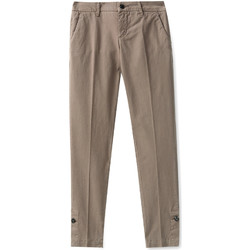 textil Dam Chinos / Carrot jeans Liu Jo W68321T6468 Brun