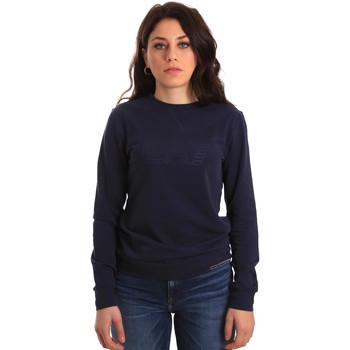 textil Dam Sweatshirts Ea7 Emporio Armani 6ZTM84 TJ31Z Blå