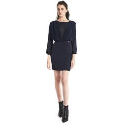 textil Dam Korta klänningar Gaudi 821BD15021 Blå