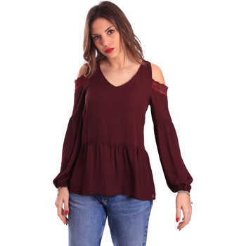 textil Dam Blusar Gaudi 821FD45030 Violett