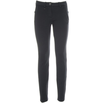 textil Dam Chinos / Carrot jeans NeroGiardini A860301D Blå