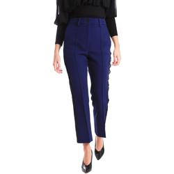 textil Dam Chinos / Carrot jeans Denny Rose 821DD20001 Blå