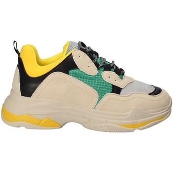 Skor Dam Sneakers Gold&gold B18 GT530 Gul