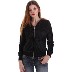 textil Dam Sweatshirts Key Up 5CS57 0001 Svart
