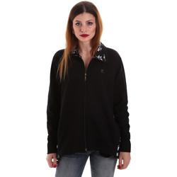 textil Dam Sweatshirts Key Up 5FI46 0001 Svart