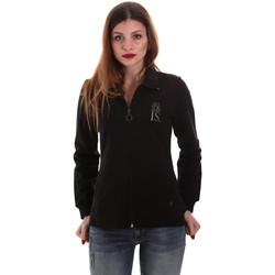textil Dam Sweatshirts Key Up 5EG20 0001 Svart