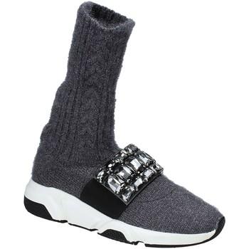 Skor Dam Höga sneakers Studio Italia BLANCHE 08 Grå
