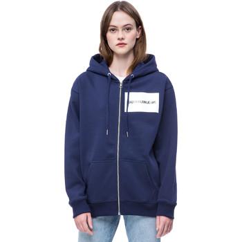 textil Dam Sweatshirts Calvin Klein Jeans J20J207832 Blå