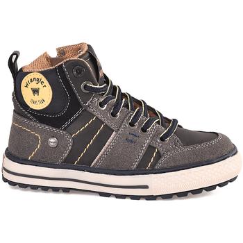 Skor Barn Höga sneakers Wrangler WJ18213 Svart