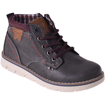 Skor Barn Höga sneakers Wrangler WJ18211 Svart