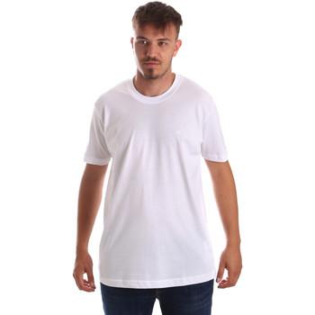 textil Herr T-shirts Key Up 2M915 0001 Vit