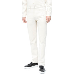 textil Herr Stuprörsjeans Calvin Klein Jeans J30J310380 Vit