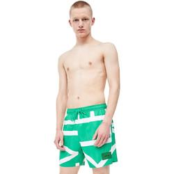 textil Herr Badbyxor och badkläder Calvin Klein Jeans KM0KM00274 Grön