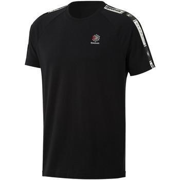 textil Herr T-shirts Reebok Sport DT8147 Svart