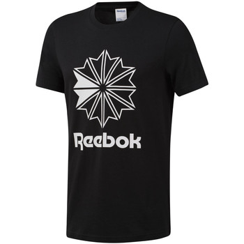 textil Herr T-shirts Reebok Sport DT8171 Svart
