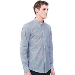 textil Herr Långärmade skjortor Antony Morato MMSL00526 FA430360 Blå