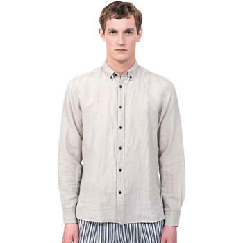 textil Herr Långärmade skjortor Antony Morato MMSL00530 FA400051 Grå
