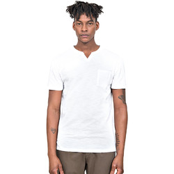 textil Herr T-shirts Antony Morato MMKS01487 FA100139 Vit
