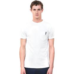 textil Herr T-shirts Antony Morato MMKS01490 FA100084 Vit