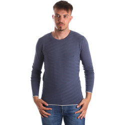 textil Herr Tröjor Gaudi 911FU53018 Blå