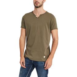 textil Herr T-shirts Gaudi 911BU64024 Grön