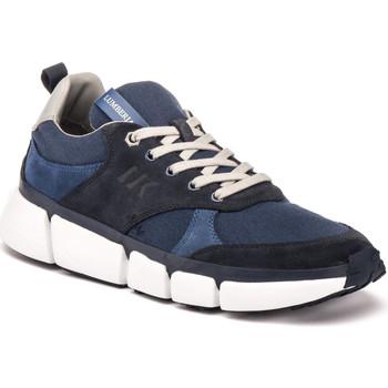 Skor Herr Sneakers Lumberjack SM58705 002 R66 Blå